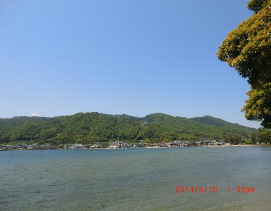 天橋立から宮津湾日本海を望む②