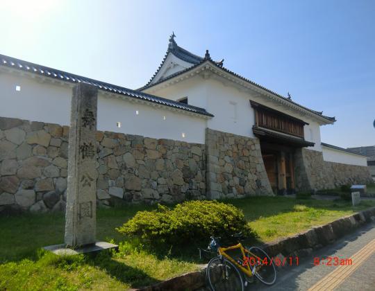田辺城址城門