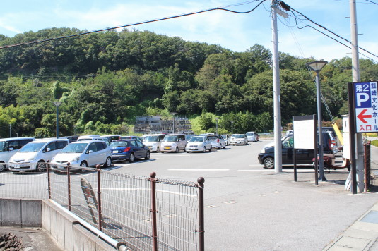 韮崎文化ホール祭り 駐車場