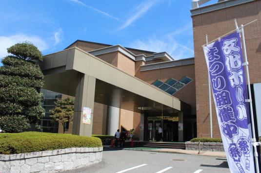 韮崎文化ホール祭り 外観