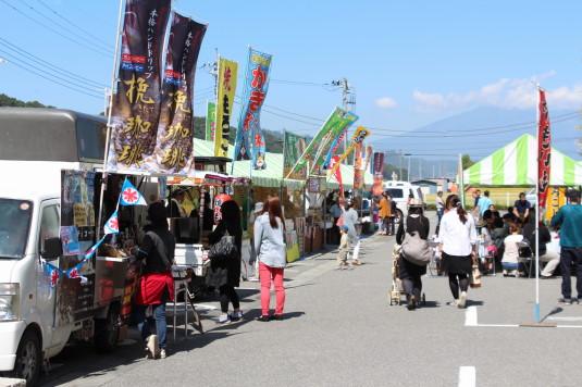 韮崎文化ホール祭り お店