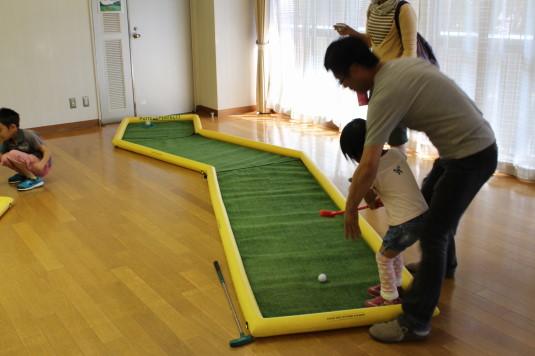 韮崎文化ホール祭り ゴルフ