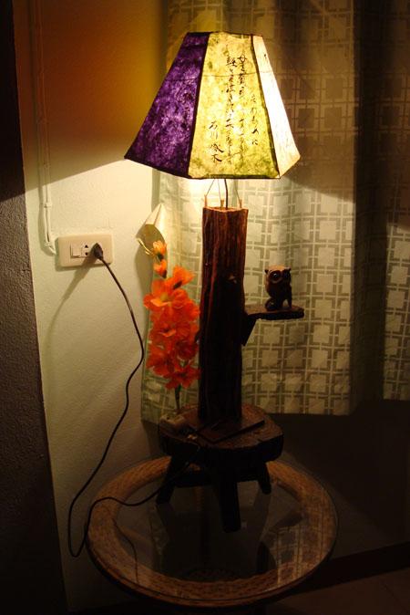 手作りランプ!