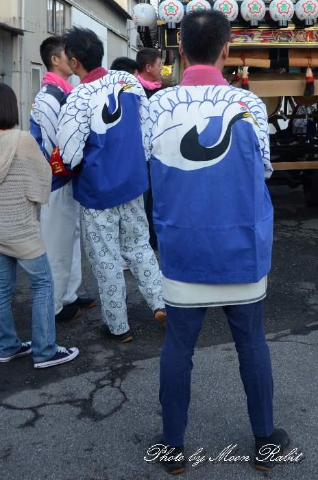 原之前屋台(原の前だんじり) 法被 祭り装束 西条祭り2013 伊曽乃神社