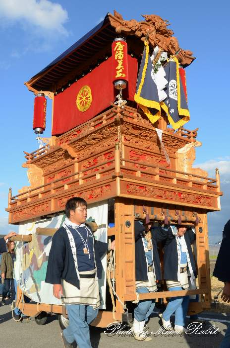 山道だんじり(屋台) 統一運行 西条祭り2013 伊曽乃神社祭礼