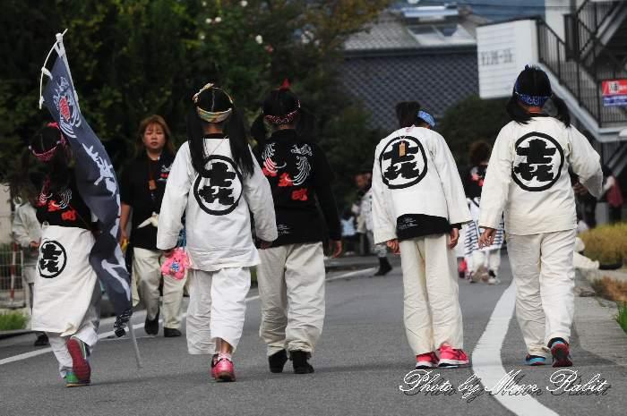 喜多町だんじり(屋台)  祭り装束 西条祭り 伊曽乃神社