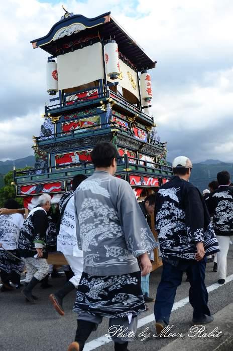 松之巷屋台(松之巷だんじり) 法被 祭り装束 西条祭り2013 伊曽乃神社