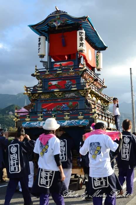 四軒町だんじり(屋台) 祭り装束 西条祭り 伊曽乃神社祭礼