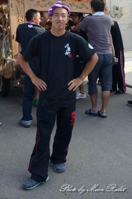 川原町だんじり(屋台) 祭り装束 西条祭り2014 伊曽乃神社祭礼