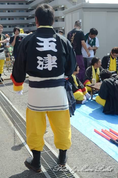 玉津屋台(玉津だんじり) 祭り装束 西条祭り2014 伊曽乃神社祭礼