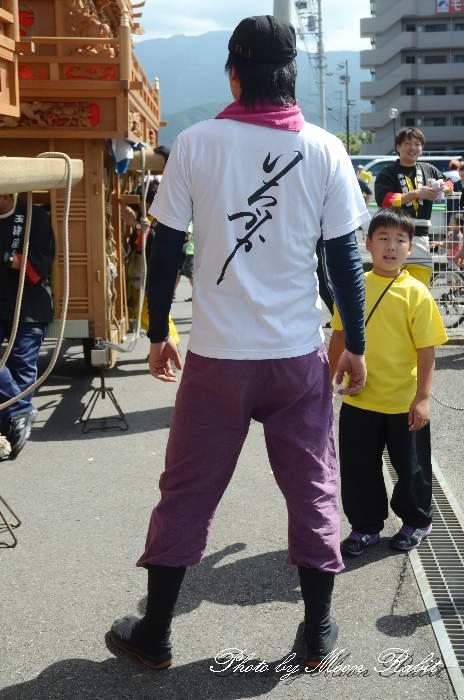 市塚だんじり(屋台) 祭り装束 西条祭り 伊曽乃神社祭礼