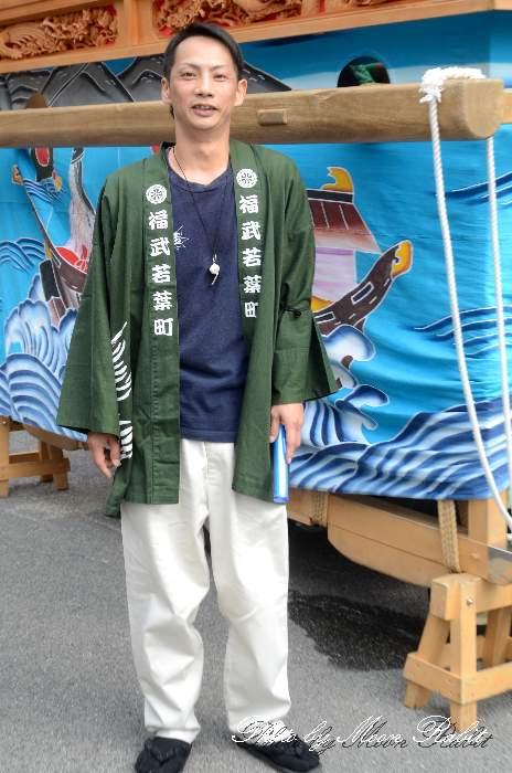 若葉町だんじり(屋台) 祭り装束 西条祭り 伊曽乃神社祭礼