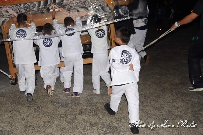 岸陰屋台(岸陰だんじり) 祭り装束 西条祭り 愛媛県西条市