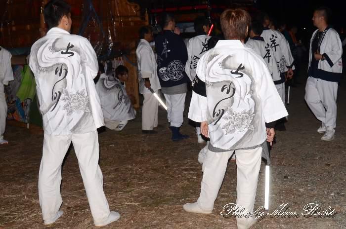 上小川屋台(上小川だんじり) 祭り装束 西条祭り 愛媛県西条市