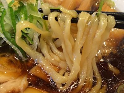生姜醤油201410麺