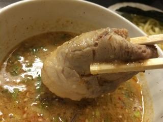 フジヤマつけ麺チャーシュー