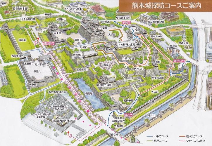 熊本城地図だよ2