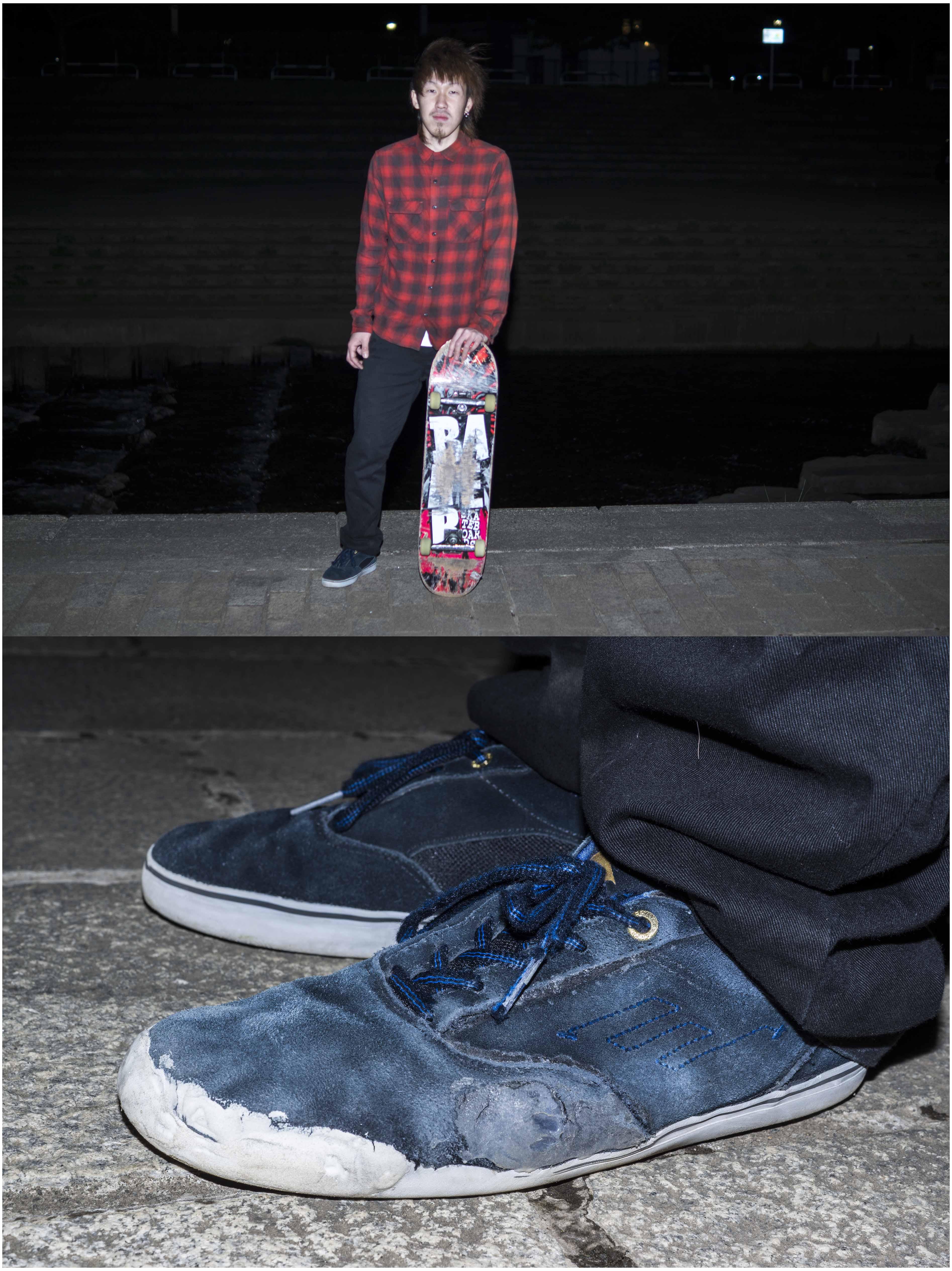 Symbol of skateboard 尾崎 信哉