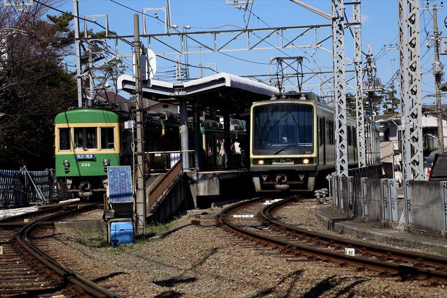 江ノ電鵠沼0106