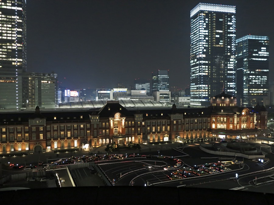 東京駅夜景01