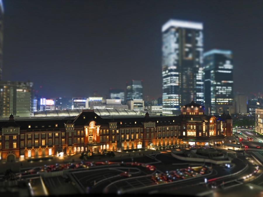 東京駅夜景02