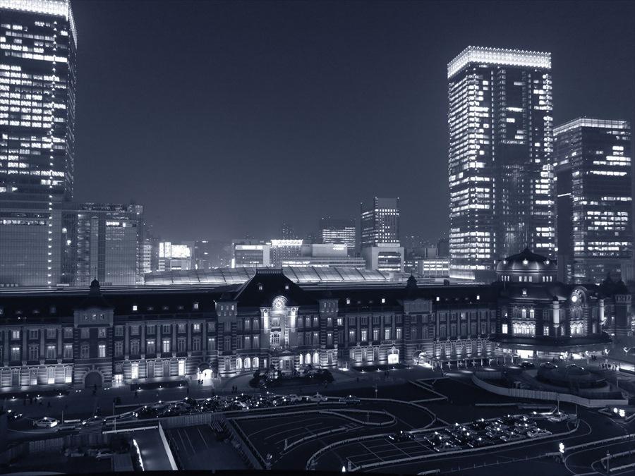 東京駅夜景04