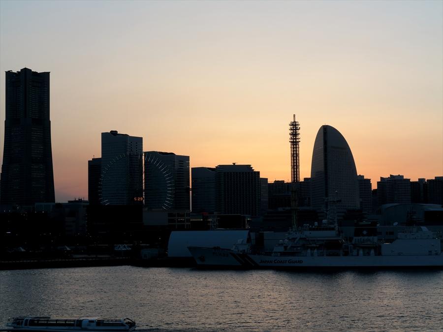 大桟橋夕景05