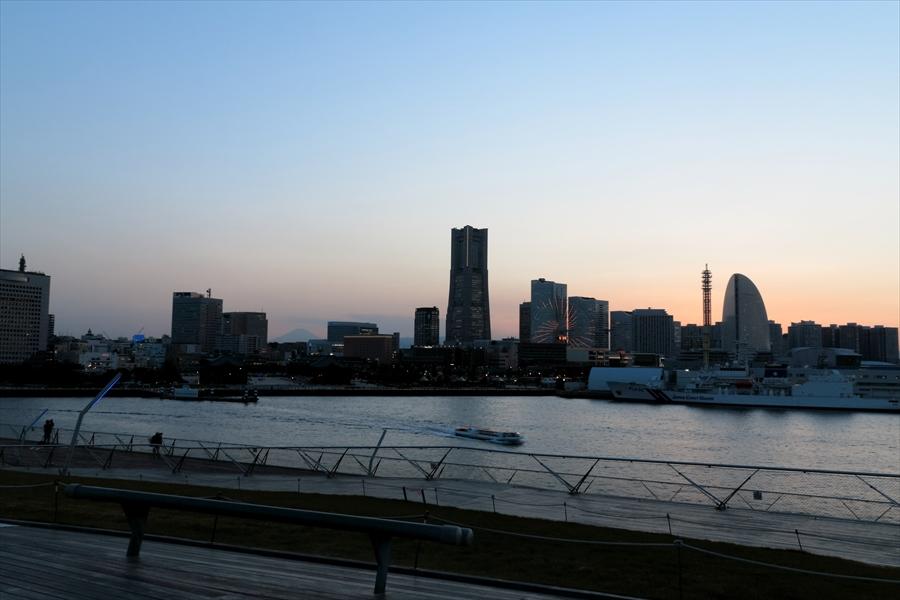 大桟橋夕景06