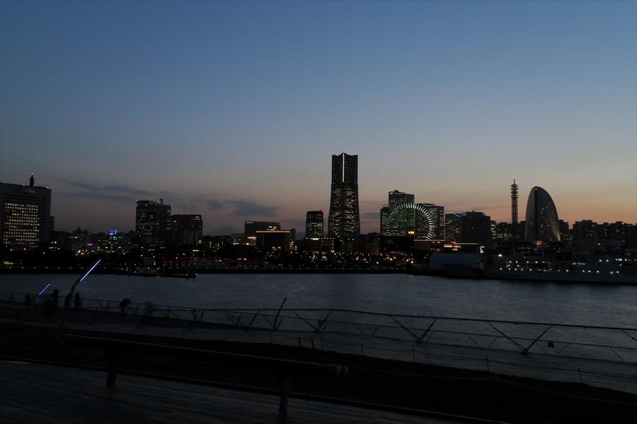 大桟橋夕景08