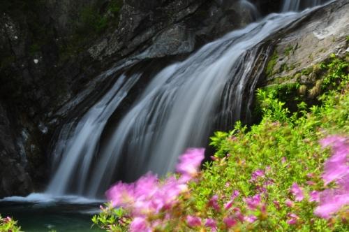2アメガエリの滝14.05.03