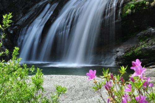 3アメガエリの滝14.05.03