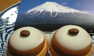 富士山頂と富士山