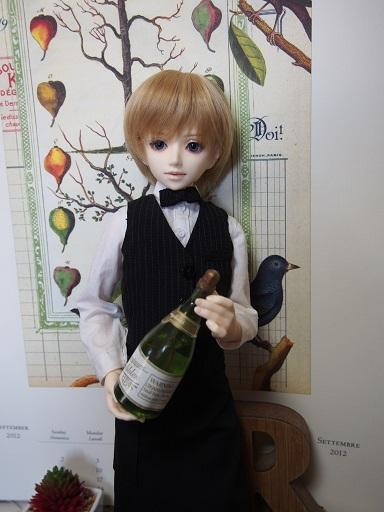 ワインもいかが?