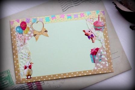 バースデー用 手作りカード (3)