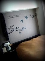寝室インテリア ウォールステッカー (4)
