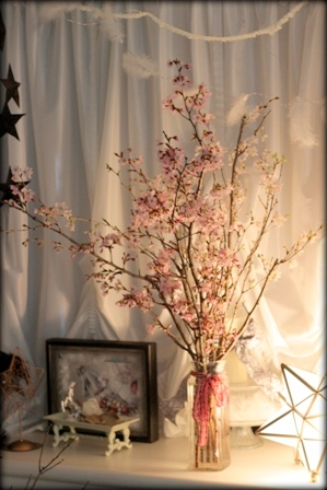 お星様ランプと桜 (4)