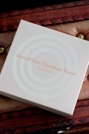 リッチチョコバウム ホワイト