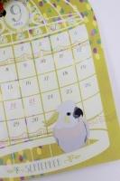 セリア 鳥さんカレンダー 2015 (5)