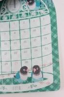 セリア 鳥さんカレンダー 2015 (7)