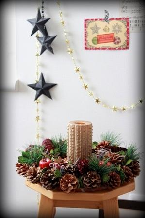 ニトリ クリスマスリース (7)