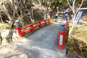 表参道(赤い橋)
