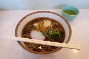 ランチ(山菜蕎麦)