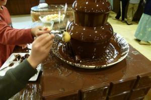 チョコレートマウンテン?