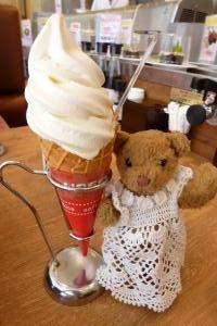 ベァーとソフトクリーム