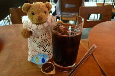 ベァーとアイスコーヒー