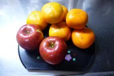 りんご&柿