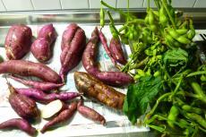 さつま芋と枝豆