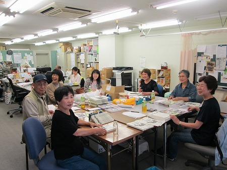 ゆめ風基金機関紙発送作業