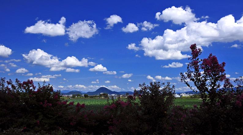 琵琶湖-夏空03