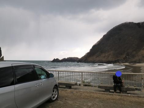 2014琴平荘 駐車場